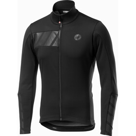 Castelli Raddoppia 2 Jas Heren, light black/refelx